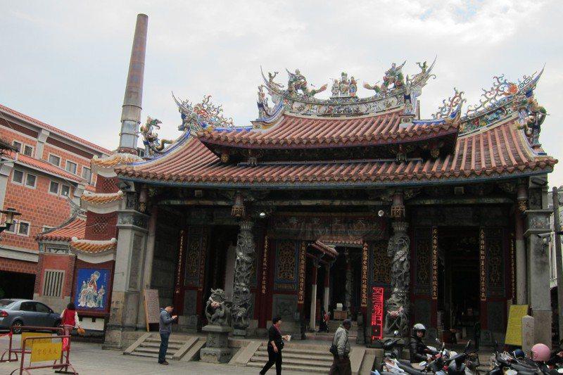 文資局至今唯一完成台南五妃廟保存計畫,規畫的專家學者耗盡心血在周遭畫定相當區域。圖/聯合報系資料照片