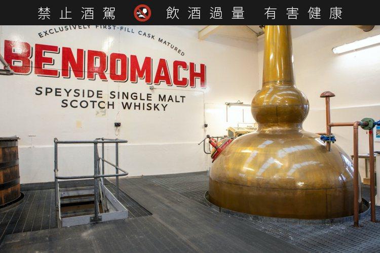 百樂門威士忌百年來堅持手工製作威士忌。圖/廷漢提供。提醒您:禁止酒駕 飲酒過量有...
