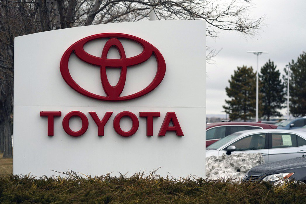 豐田汽車(Toyota)上季營收激增73%,營業利益更衝上歷史新高。 (美聯社)