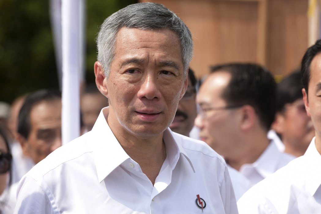 新加坡總理李顯龍。美聯社