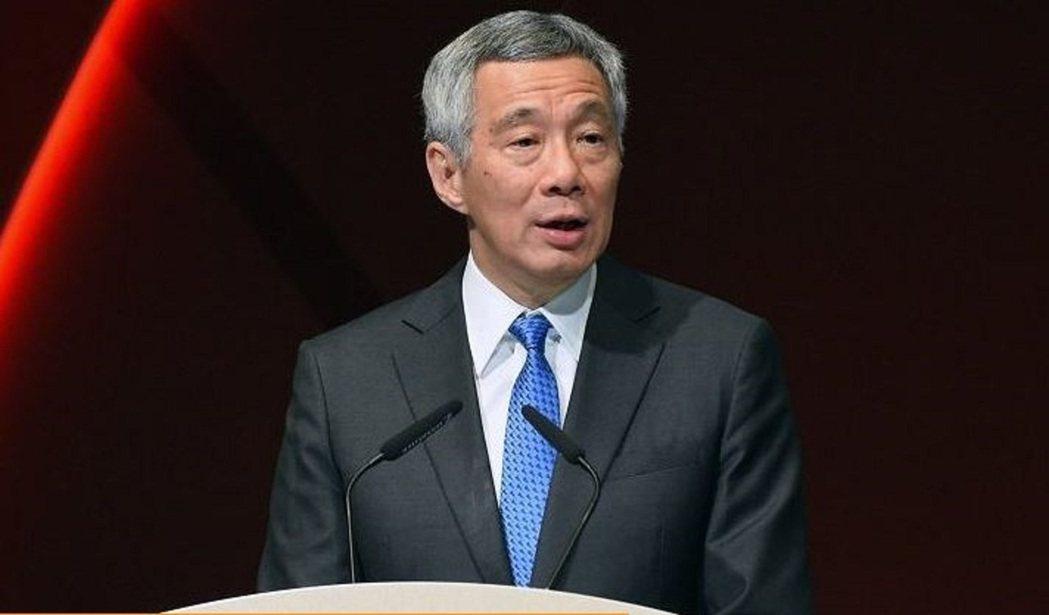 新加坡總理李顯龍。法新社