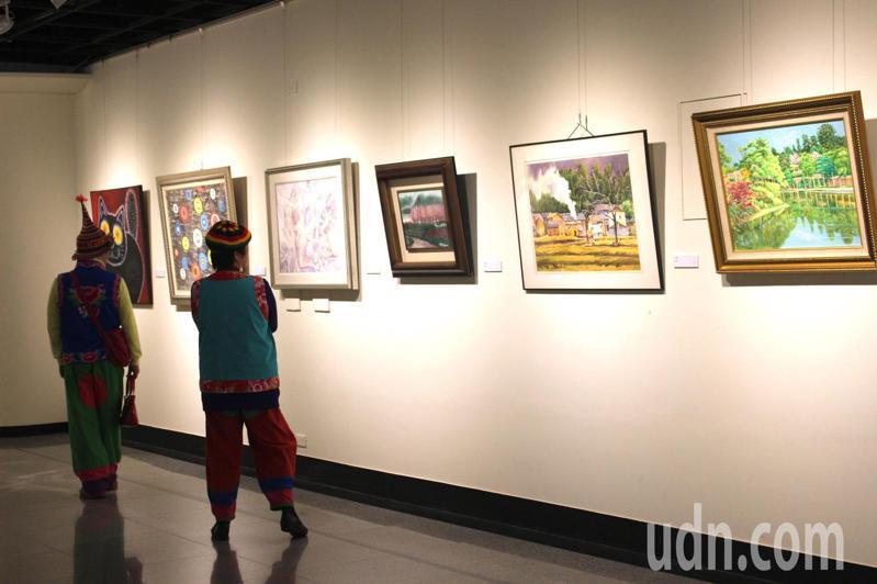 疫情期間,藝廊靠藝FUN券拿到的補助金額,只有百分之零點零六。本報資料照片