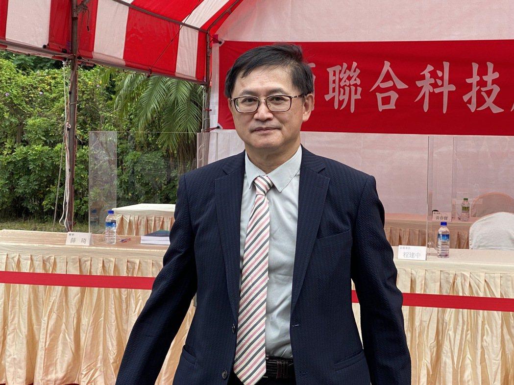 和碩董事長童子賢  記者吳凱中╱攝影