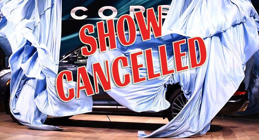 紐約車展連續兩年遭遇到取消狀況。 摘自Carscoops.com
