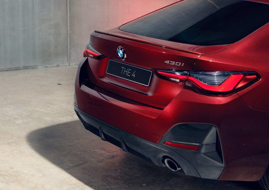 3D立體LED尾燈設計打造全新BMW 4系列Gran Coupé令人過目難忘的車...