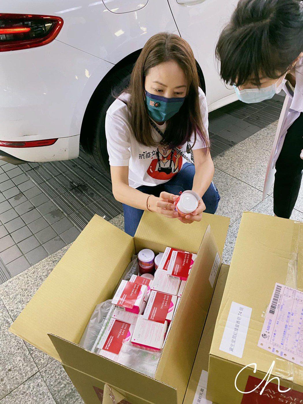 賈永婕努力奔走各醫院,幫助了不少人。圖/摘自賈永婕臉書