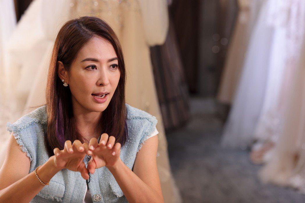賈永婕暢談這兩個月的甘苦,認為疫情之下沒人能置身事外。記者李政龍/攝影