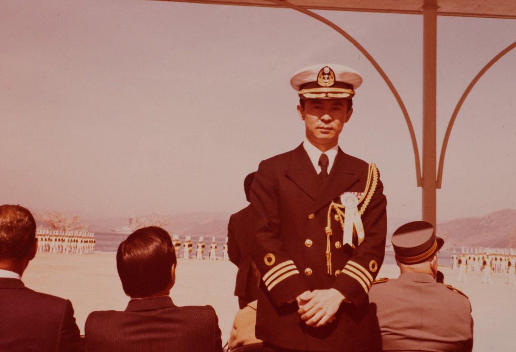 賈永婕的父親官拜海軍上校,年輕時常在外地出任務。記者李政龍/翻攝