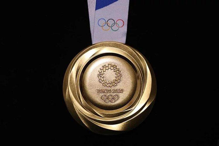 奧運獎牌的原物料來自全日本回收的電子廢棄物。圖/取自https://olympi...
