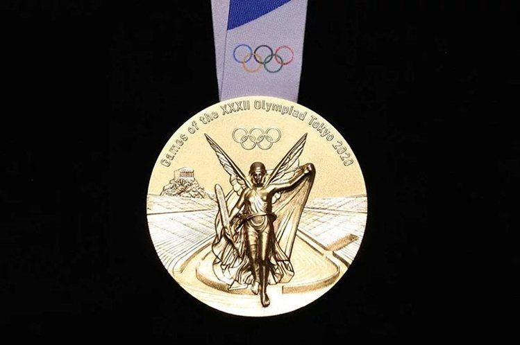 希臘勝利女神是奧委會制訂的獎牌必要元素。圖/取自https://olympics...