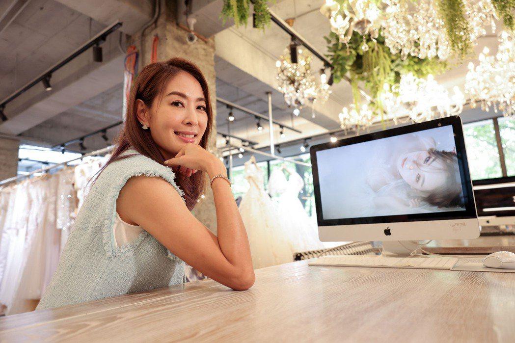 賈永婕從不輕言放棄,對工作、家庭或是人生都抱同樣態度。記者李政龍/攝影