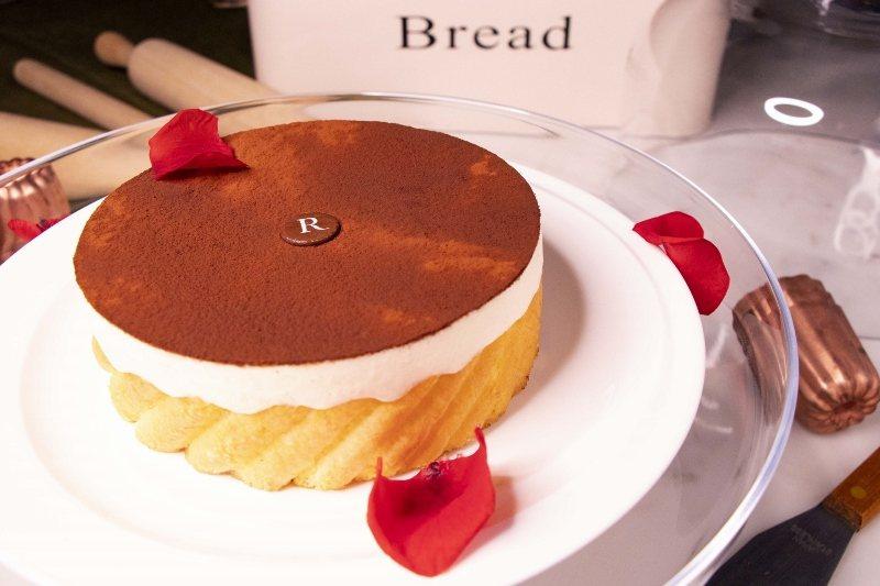 「我愛爸爸」4人套餐的甜點:提拉米蘇。 萬麗酒店/提供