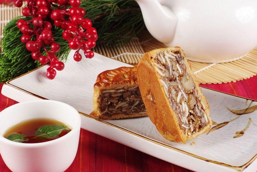 金腿伍仁月餅。馬來亞餐廳/提供