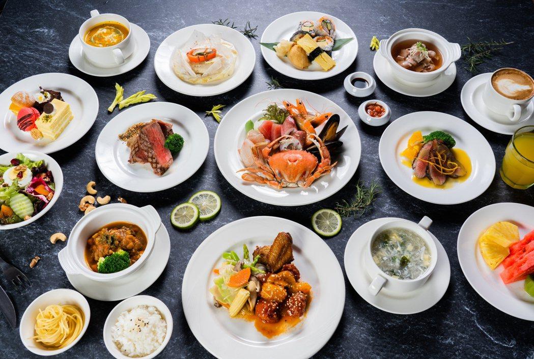 義大皇家酒店星亞自助餐廳開放內用初期推套餐式無限點,一樣吃到飽,變身套餐更享尊榮...