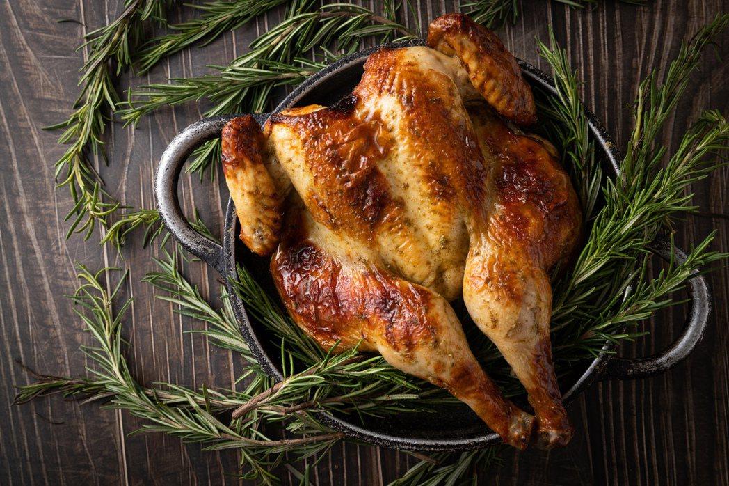 華泰王子大飯店,驢子餐廳-香料烤全雞。