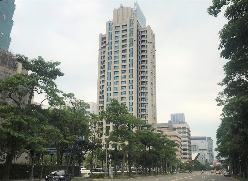 信義首席公館。記者游智文/攝影