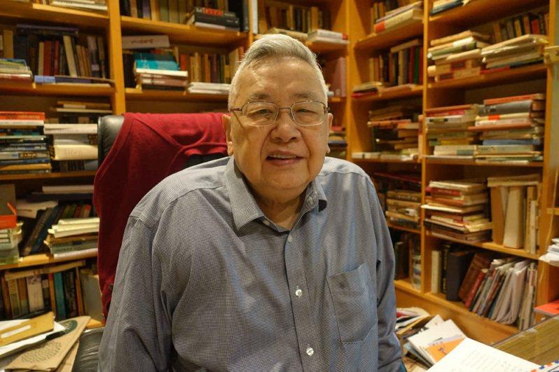 歷時12年,史學巨擘余英時完成「余英時回憶錄」。圖/廖志峰提供