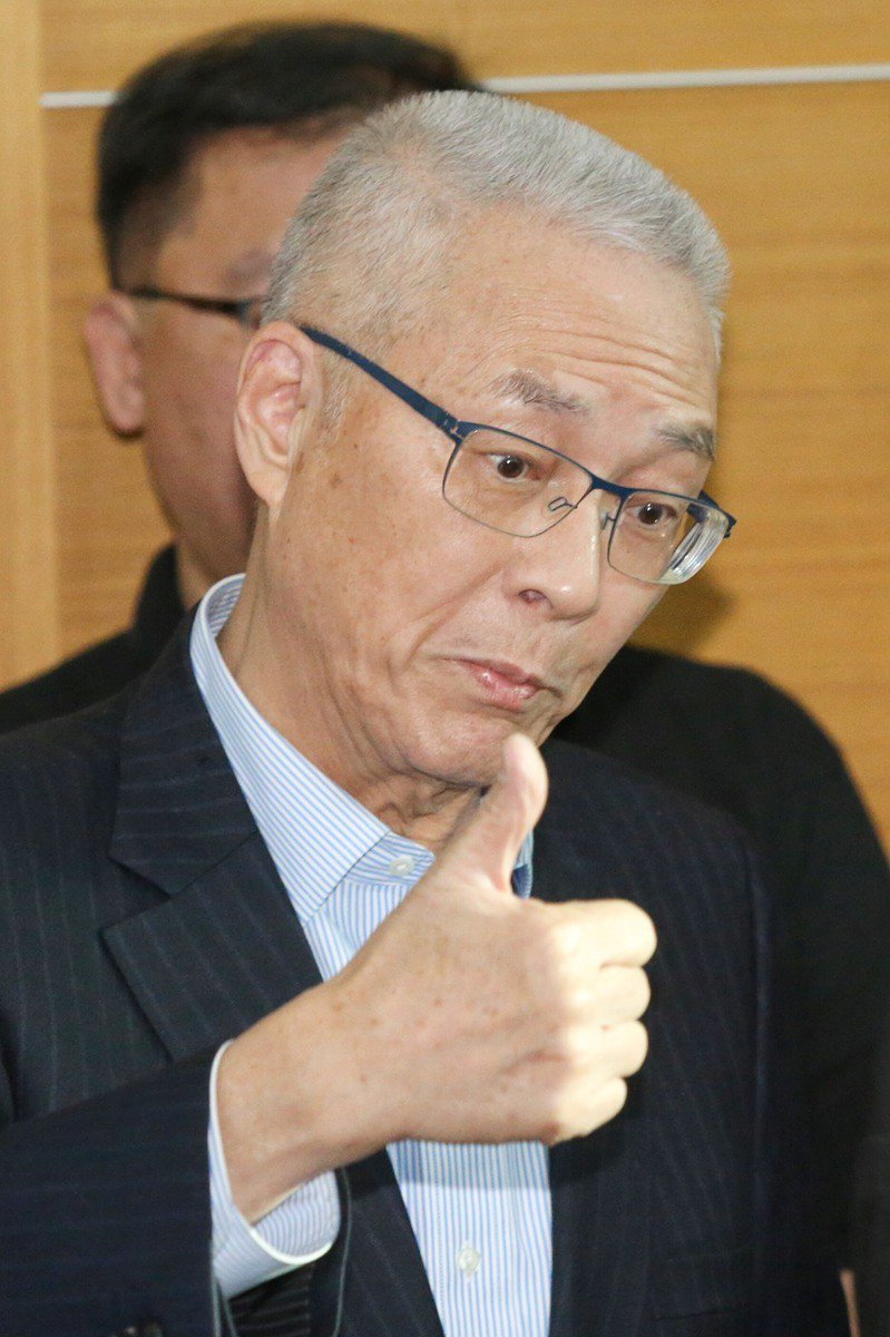 前副總統吳敦義。本報資料照片