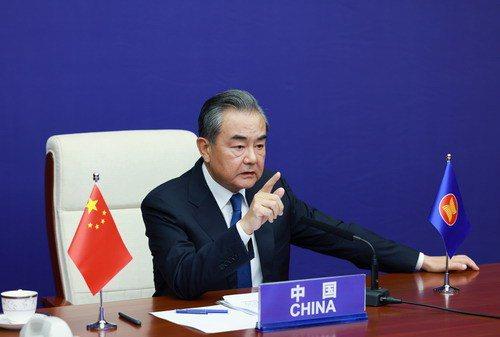 大陸國務委員兼外長王毅說,永遠不會有「港獨」再上街的一天。(取自大陸外交部網站)