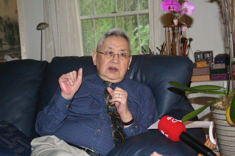 唐獎首屆漢學獎得主、享譽國際的史學大師余英時日前在紐澤西普林斯頓於睡夢中安詳過逝,享耆壽91歲。圖/唐獎教育基金會提供