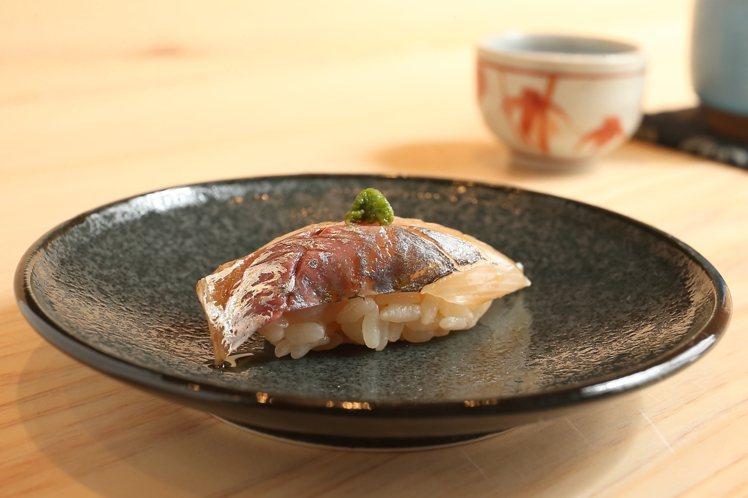 竹莢魚。記者陳睿中/攝影