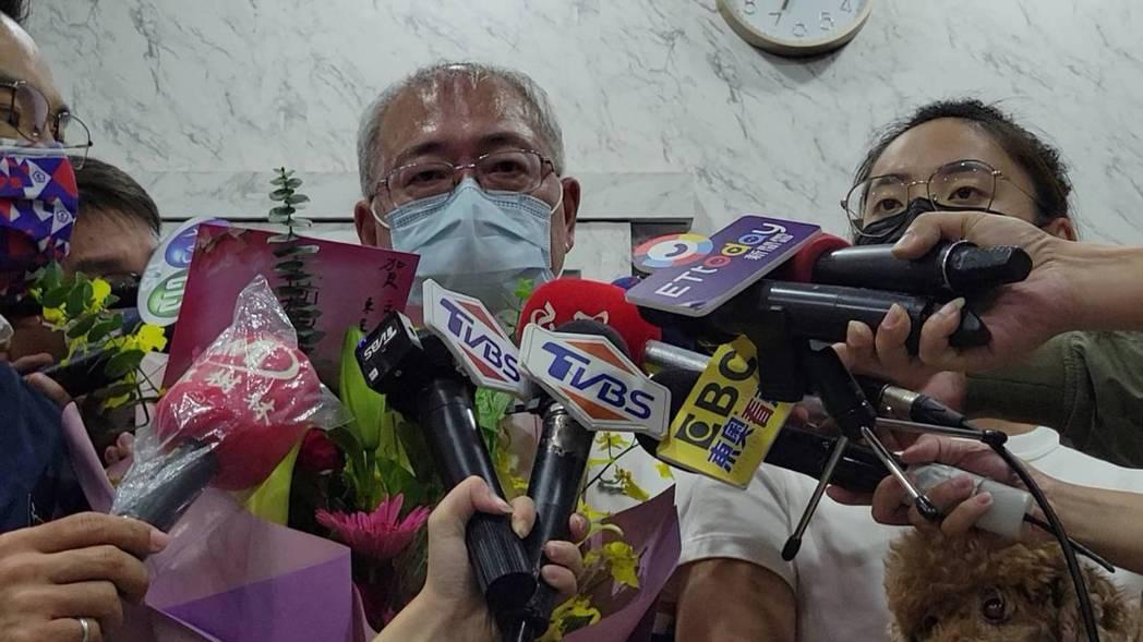 爸爸文耀賢表示,(文姿云)努力、盡力了,盡力就好,謝謝大家、謝謝國家的栽培。記者...