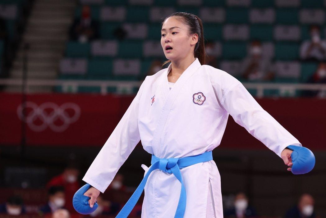 東京奧運女子55公斤級4強戰,文姿云被判定落敗。 特派記者余承翰/東京攝影