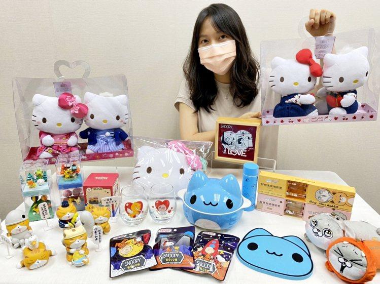 7-ELEVEN七夕情人節集結寶可夢、史努比、Hello Kitty、貓貓蟲咖波...