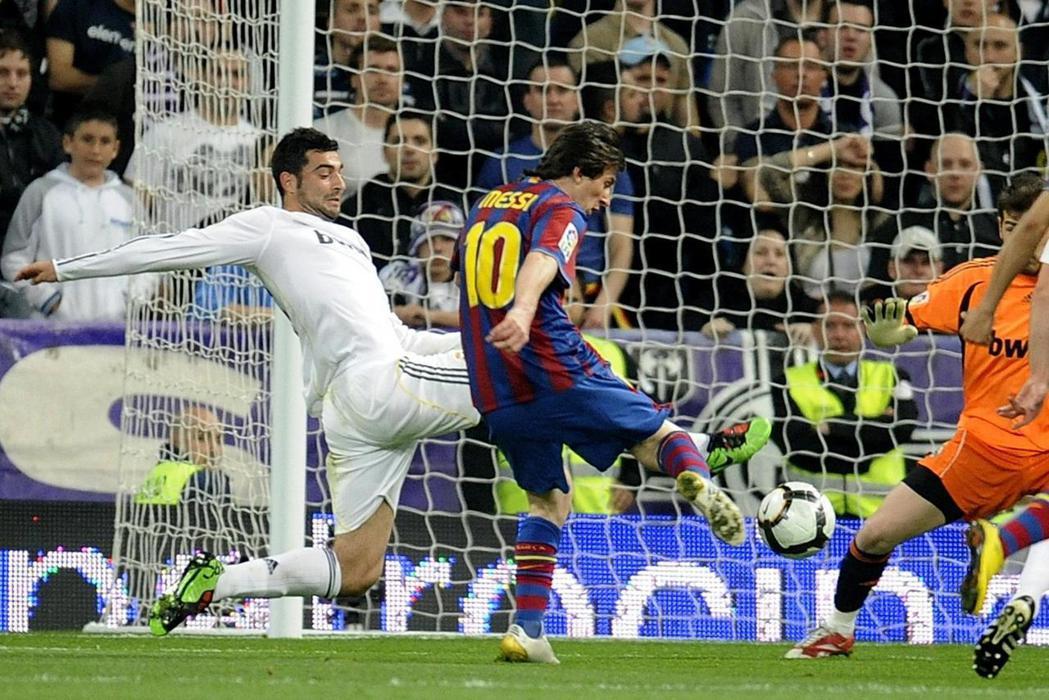 與皇家馬德里的比賽。 圖/路透社