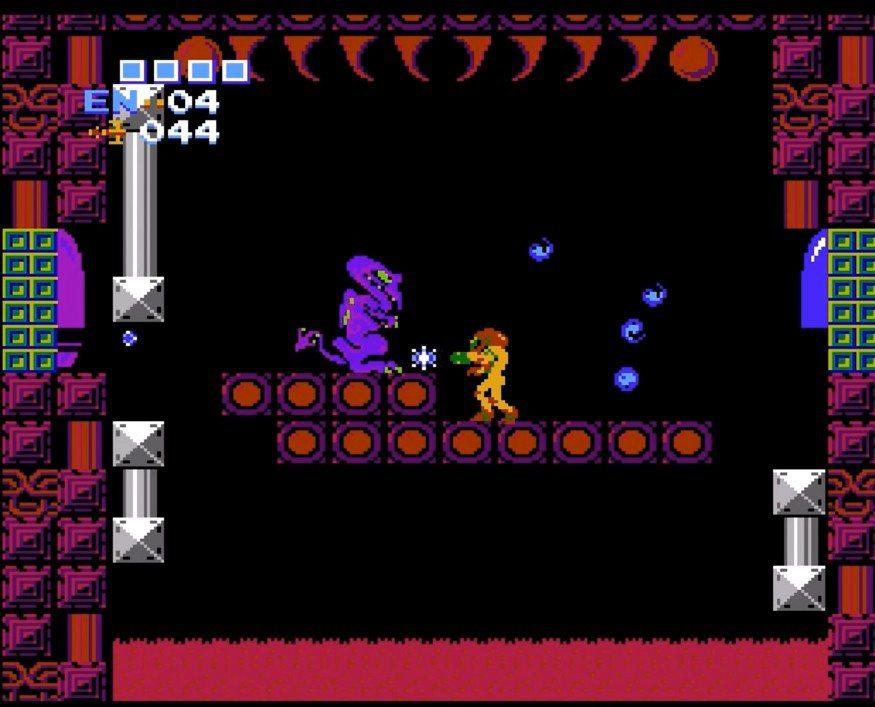 銀河戰士的風格和電影《異形》頗為相似,玩家必須操縱主角,賞金獵人薩姆斯・亞蘭(S...