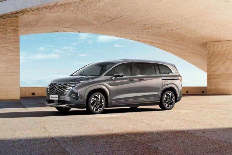 中國專屬全新MPV北京現代Hyundai Custo,將在八月底的成都車展中發表...
