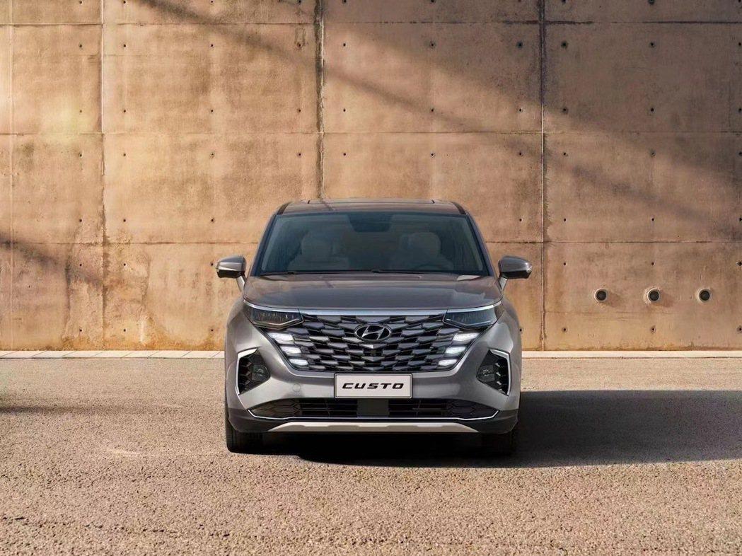 中國專屬Hyundai Custo「庫斯途」預告發表。 摘自北京現代