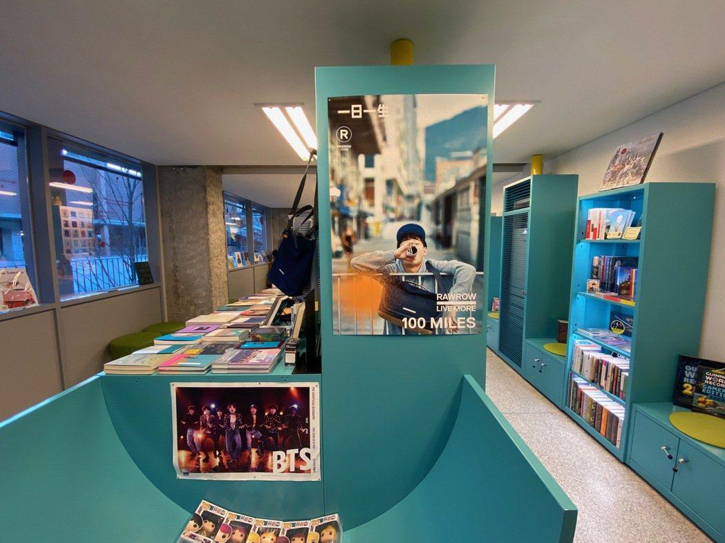 藝術書店「ARC.N.Book」。 圖/陳信方攝影