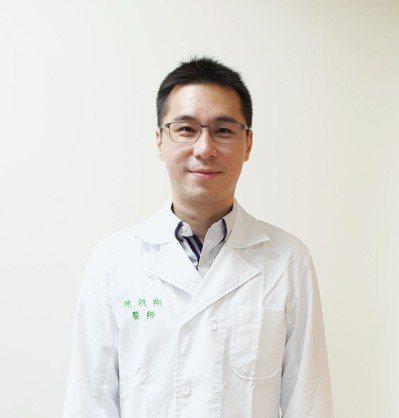 新竹台大分院新竹醫院 神經部副主任陳凱翔醫師。圖/陳凱翔提供