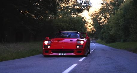影/Ferrari F40第一人稱視角試駕!熱血指數大爆炸