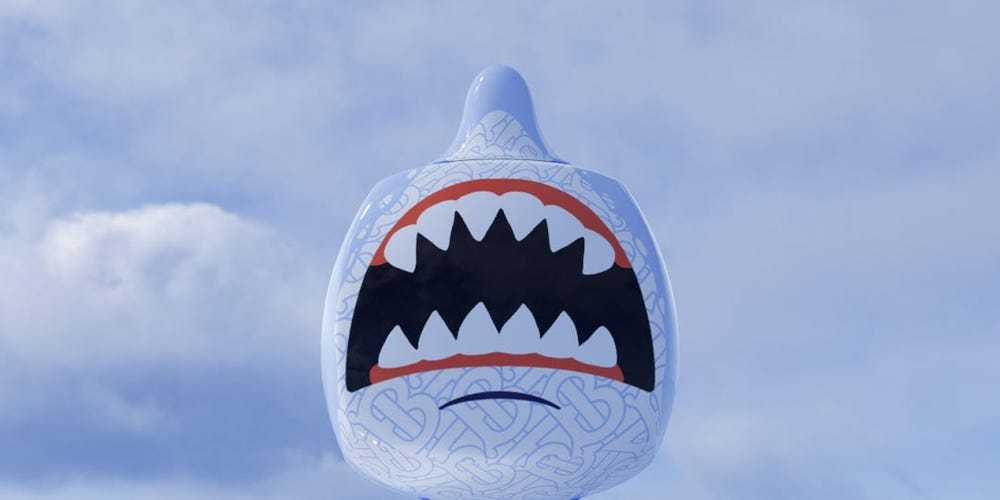 Burberry的NFT遊戲角色「Sharky B」。(網路圖片/Burberr...