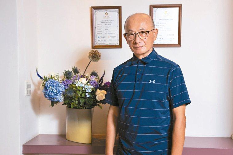 林芳郁為台灣醫界創下許多歷史性推展。記者季相儒/攝影