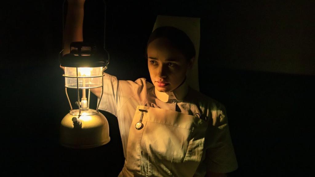 「鬼護士」在廢棄精神病院實地取景。圖/myVideo提供