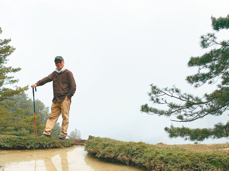 小野是「千里步道運動」的發起人之一。圖/小野提供