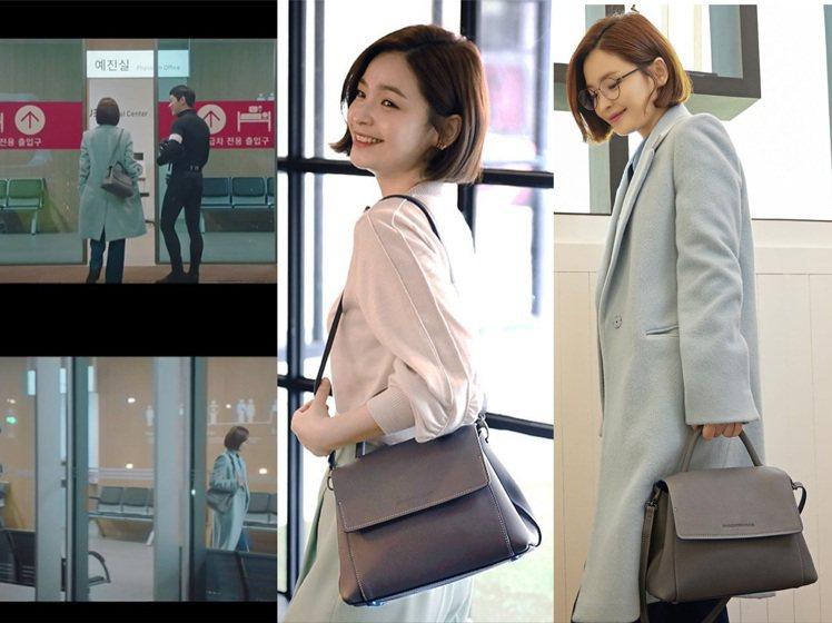 田美都在機智醫生生活中詮釋義大利包款品牌Mandarina Duck的Viola...