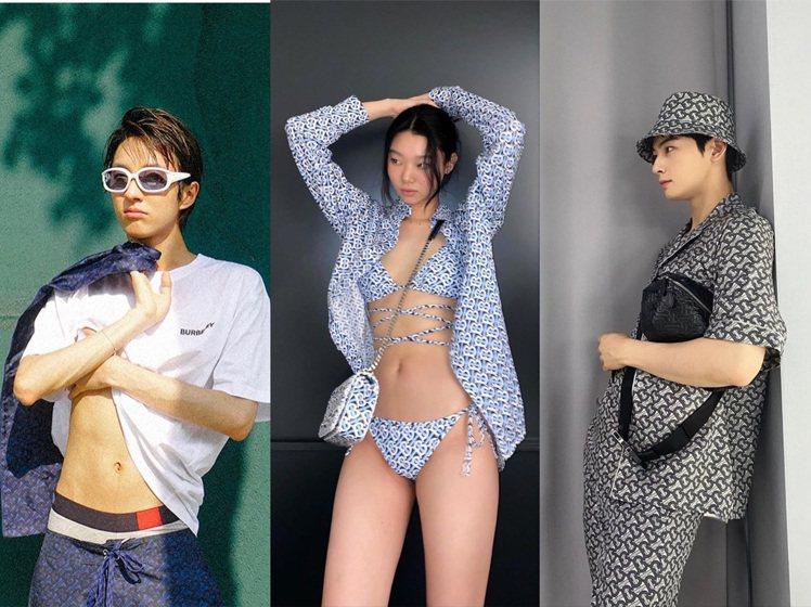 韓國歌手Holland、模特兒展現性感健康的夏日情調,車銀優穿同系列在IG狂收粉...