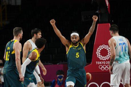 籃球/米爾斯轟42分退斯洛維尼亞 澳洲奪銅寫奧運最佳