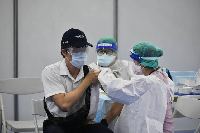 疫苗施打示意圖。圖/新北市新聞局提供