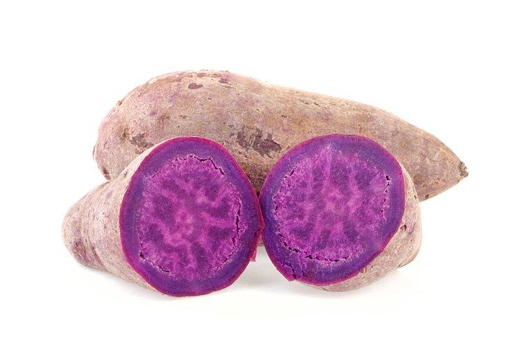 紫色番薯 圖/123RF