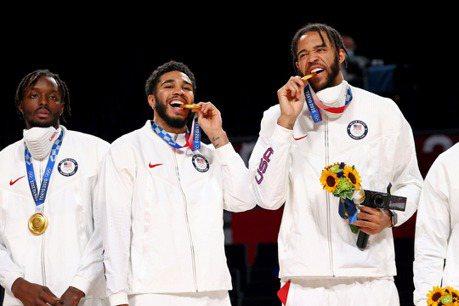 籃球/美國男籃東奧圓滿收場 造就金牌母子檔與夫妻檔