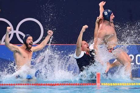水球/塞爾維亞男子水球擊敗希臘  摘下東奧最後一金
