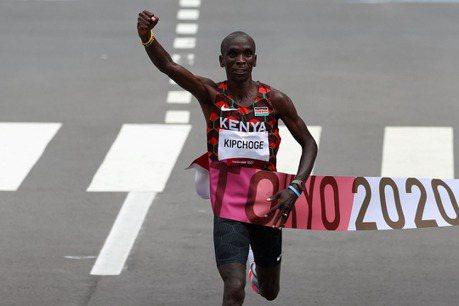 田徑/衛冕奧運馬拉松金牌 基普柯吉跑出傳奇不言退