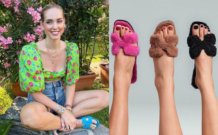 今年秋冬,愛馬仕更為ORAN拖鞋式涼鞋增添了新的材質,推出用羊毛打造而成的新款。...