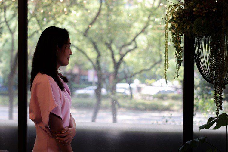 賈永婕前兩年也曾歷經事業低潮,但她勇敢不懼,在競爭中生存下來。攝影/李政龍