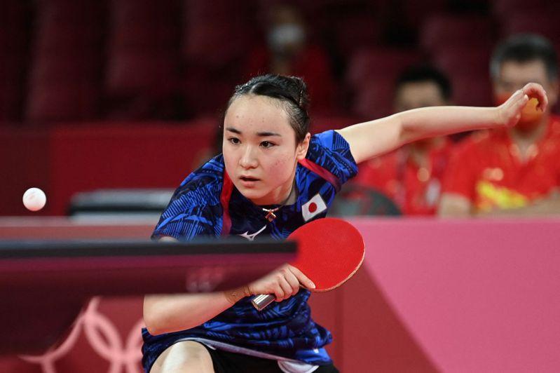 日本桌球選手伊藤美誠在本屆東京奧運包辦3面獎牌表現亮眼,但他想做自己,不想當「福原愛第2」。 法新社